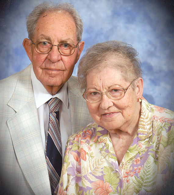 Billy and Betty McNamee