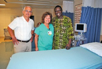 West African impressed with visit to Hardin County area