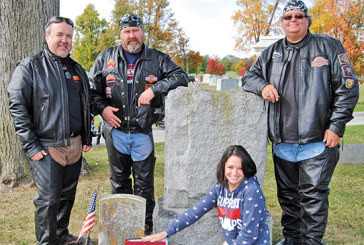 Fallen hero's memorial makes stop in Kenton during motorcycle journey