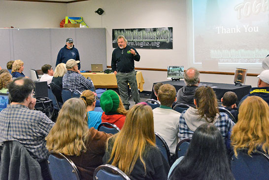 Eerie stories shared during ghost hunter program at library