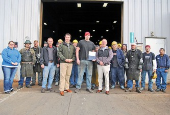 Kenton Iron Products' laborers get state honor