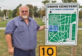 Grove Cemetery boss enjoys variety of his job