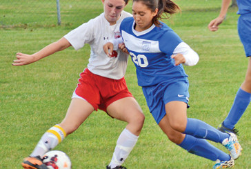 Kenton scores three goals in playoff-opening victory