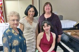 Area women attend state convention of music clubs