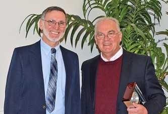 Mayor, ONU professor saluted as Ada Distinguished Citizen
