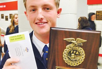 Ridgemont graduate wins Costa Rica trip through FFA