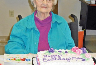 Celebrating 101st birthday