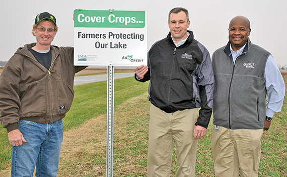 Ag Credit partners with NRCS to provide cover crop signs