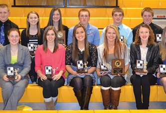 HN fall sports award winners