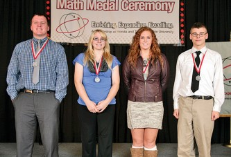 Hardin County high school seniors receive Math Medal