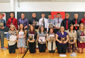 Ram fall award winners
