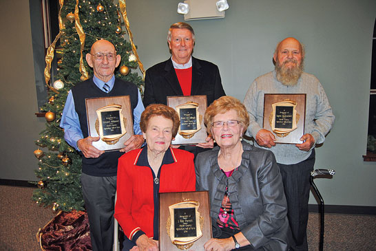 Ag Hall inductees