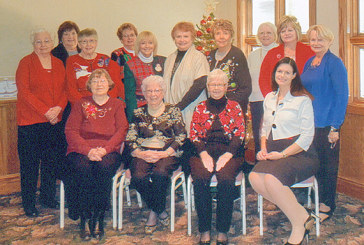 Culture Club gathers for Christmas party luncheon