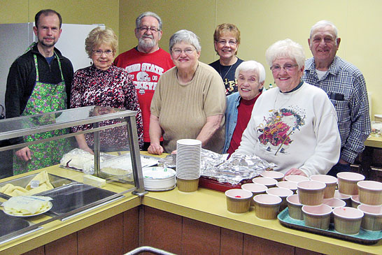 Two small churches in Kenton join forces for monthly meal