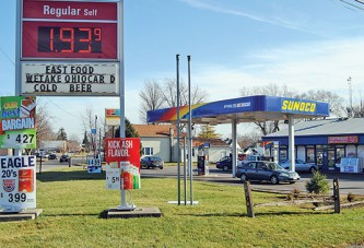 Gas prices fall