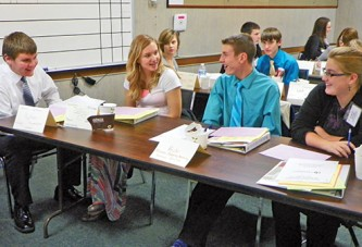 Youth leaders learn about developing strength talents