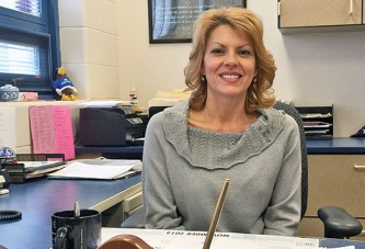 Riverdale principal enjoys interacting with students, adults