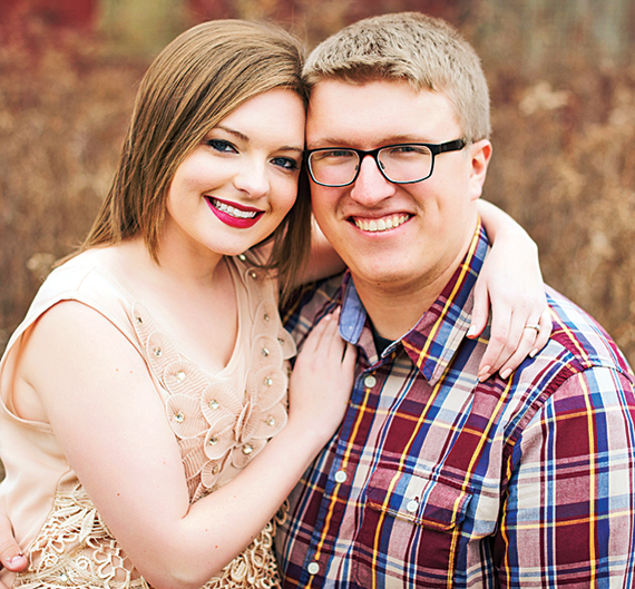 Lauryn Schlinglof and Jared Headings