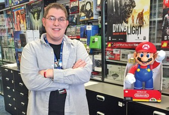 Hobby turns into career for Gamestop manager