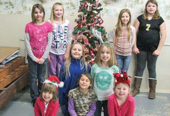Girl Scouts gather to celebrate holiday