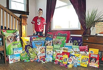 Dunkirk girl turns birthday into party to help animals