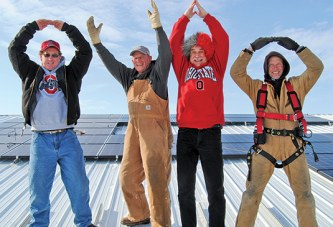 Buckeye pride, with help from the sun, to power area farm