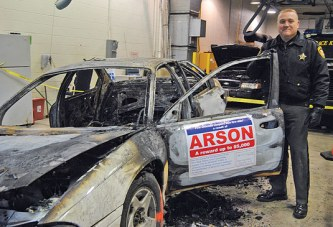 State fire marshal seeks help in solving vehicle arson fire