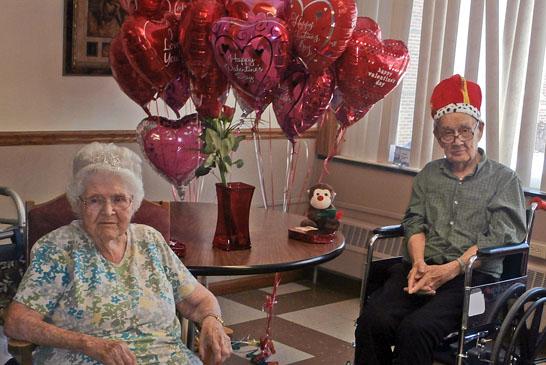 Valentine's royalty