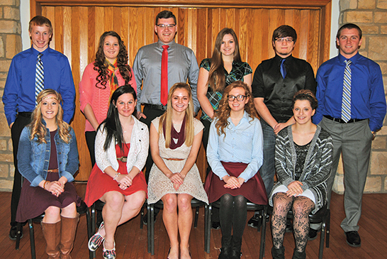 Honored Teens of the Month