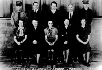 Original teaching staff