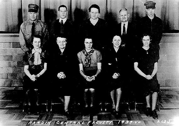 Original teaching staff