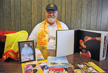 Kenton rotary member helps to fight polio in India