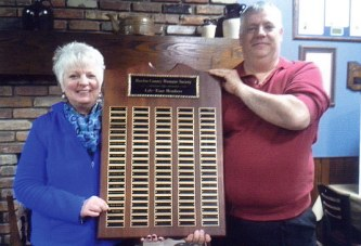 Hardin Co. Humane Society presents Lifetime Member Award at annual meeting