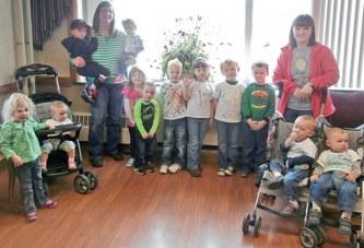 Preschoolers visit