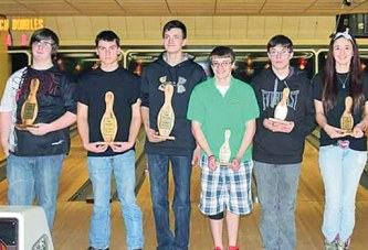 Top six at tournament