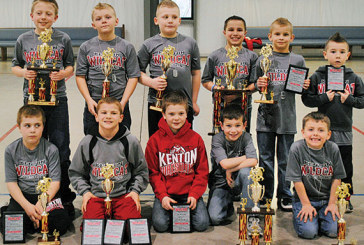 Kenton youth wrestlers honored
