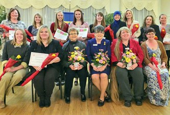 Soroptimist clubs gather for 'Celebration of Women'