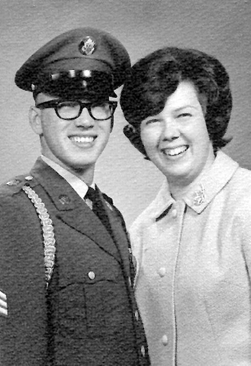 Dan & JoAnn Erwin in 1965