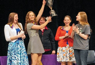 Ada High School's senior class wins Interclass competition
