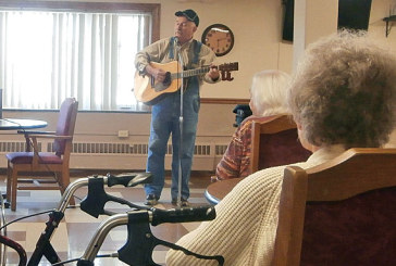 Performing for residents