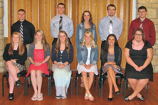 Teens honored