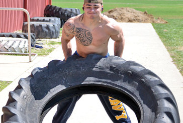 Tire workout helping Kenton's Smith get in best shape of life
