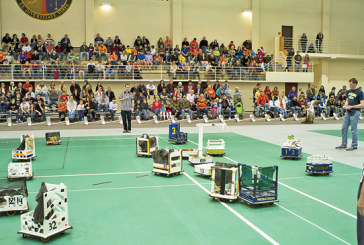 Engineering and fun collide in robotic football at ONU