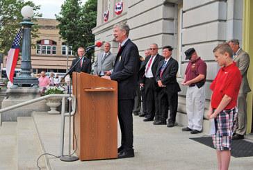 Celebrating 100th birthday of courthouse