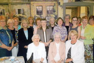 Culture Club members attend high tea in Findlay
