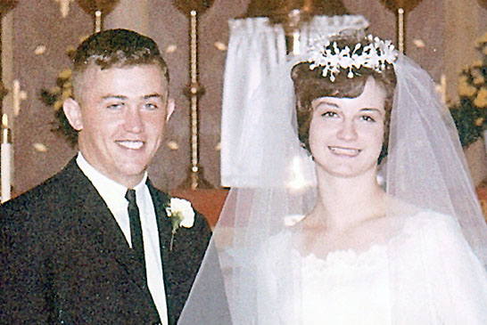 Dick & Patty Kritzler in 1965 featured