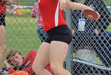 Several KHS girls place on first day of district track