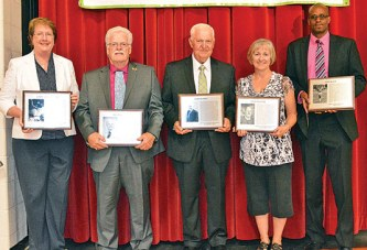 Five individuals, one team join Hardin County Sports Hall of Fame