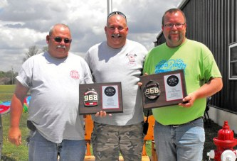 Two retire from Marseilles VFD