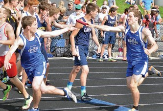Falcon relay qualifies for state
